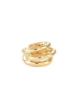 Main View - Click To Enlarge - PHILIPPE AUDIBERT - 'Neal' layered cutout band open ring