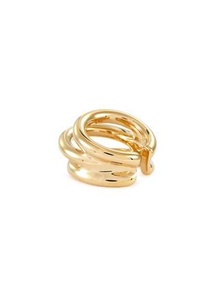 Figure View - Click To Enlarge - PHILIPPE AUDIBERT - 'Neal' layered cutout band open ring