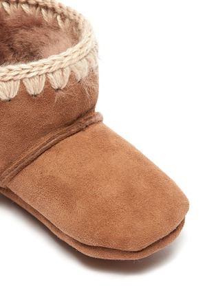 Detail View - Click To Enlarge - MOU - 'Classic' velcro infant boots