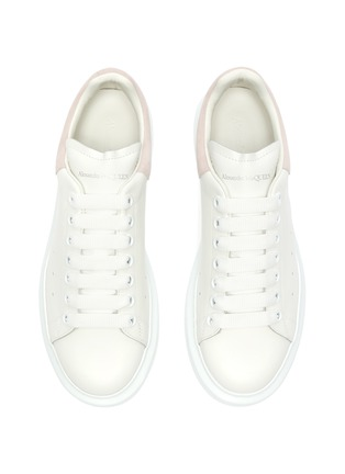 Figure View - Click To Enlarge - ALEXANDER MCQUEEN - 'Oversized sneaker' with suede tab