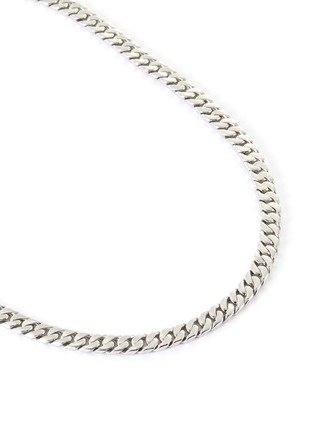 Detail View - Click To Enlarge - TOM WOOD - 'Curb' sterling silver chain necklace