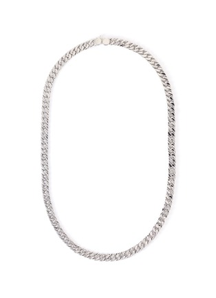 Main View - Click To Enlarge - TOM WOOD - 'Curb' sterling silver chain necklace