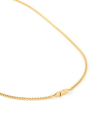 Detail View - Click To Enlarge - TOM WOOD - Square gold plated chain necklace