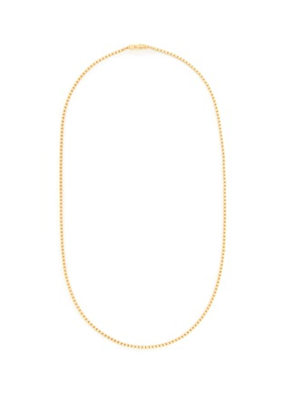 Main View - Click To Enlarge - TOM WOOD - Square gold plated chain necklace