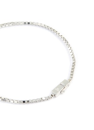 Detail View - Click To Enlarge - TOM WOOD - Square sterling silver bracelet
