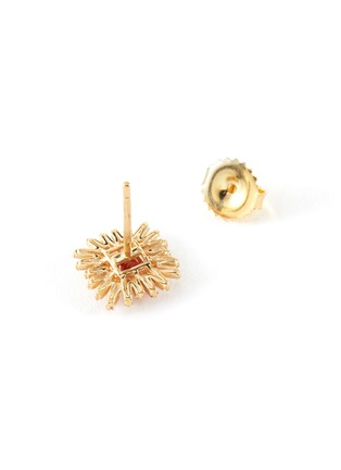 Detail View - Click To Enlarge - SUZANNE KALAN - Diamond sapphire 18k gold earrings