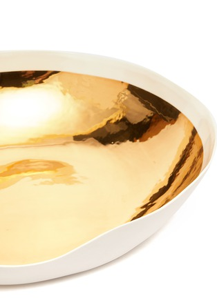 Detail View - Click To Enlarge - PETERSHAM NURSERIES - Gold painted porcelain bowl