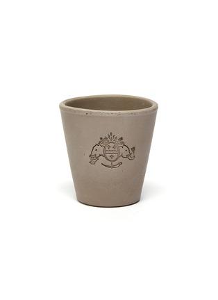 Main View - Click To Enlarge - PETERSHAM NURSERIES - Petit Plant Pot 10.5cm – Grey