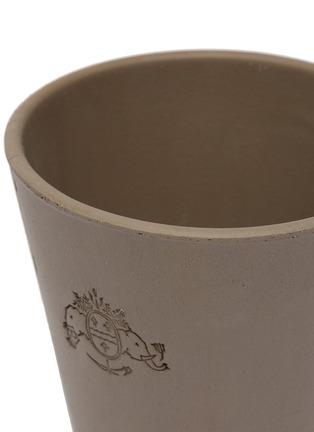 Detail View - Click To Enlarge - PETERSHAM NURSERIES - Petit Plant Pot 15cm – Grey