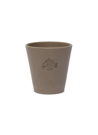 Main View - Click To Enlarge - PETERSHAM NURSERIES - Petit Plant Pot 15cm – Grey