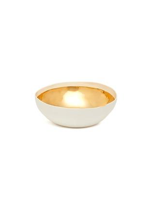 Main View - Click To Enlarge - PETERSHAM NURSERIES - Gold painted porcelain bowl