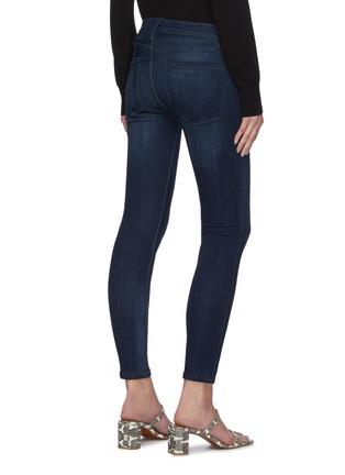 Back View - Click To Enlarge - FRAME DENIM - 'Le Skinny De Jeanne' crop jeans