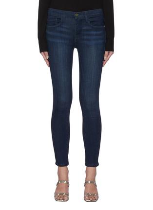 Main View - Click To Enlarge - FRAME DENIM - 'Le Skinny De Jeanne' crop jeans