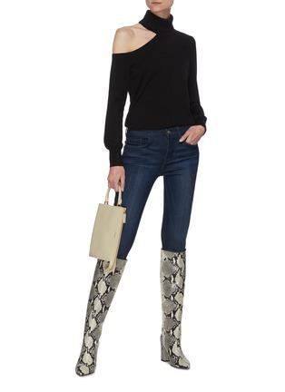 Figure View - Click To Enlarge - FRAME DENIM - 'Le Skinny De Jeanne' crop jeans