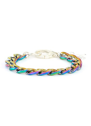 Main View - Click To Enlarge - HATTON LABS - Iridescent chain bracelet