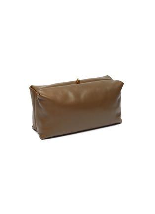 Detail View - Click To Enlarge - JIL SANDER - Goji' leather clutch