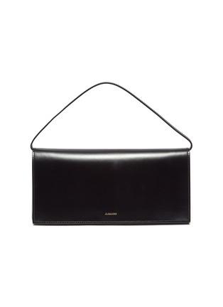 Main View - Click To Enlarge - JIL SANDER - Prism' leather medium clutch