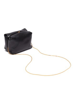 Detail View - Click To Enlarge - JIL SANDER - Goji' leather mini bag