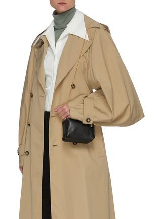 Figure View - Click To Enlarge - JIL SANDER - Goji' leather mini bag