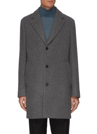 Main View - Click To Enlarge - EQUIL - Single Breast Notch Lapel Wool Coat