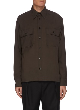Main View - Click To Enlarge - EQUIL - Patch Pocket Button Down Shirt