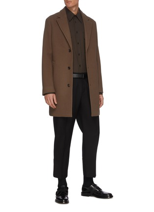 Figure View - Click To Enlarge - EQUIL - Patch Pocket Button Down Shirt