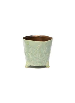 Main View - Click To Enlarge - PETERSHAM NURSERIES - The Fern Large Vase – Green