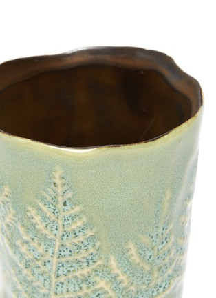 Detail View - Click To Enlarge - PETERSHAM NURSERIES - The Fern Extra Small Vase – Green