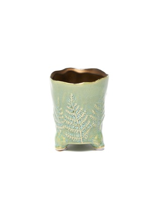 Main View - Click To Enlarge - PETERSHAM NURSERIES - The Fern Extra Small Vase – Green