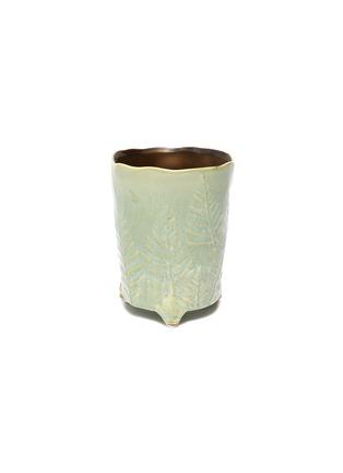 - PETERSHAM NURSERIES - The Fern Small Vase – Green