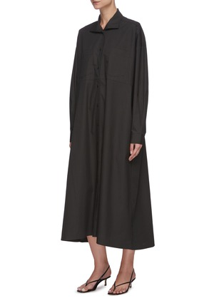Detail View - Click To Enlarge - REMAIN - 'Mezzo' belted shirt dress