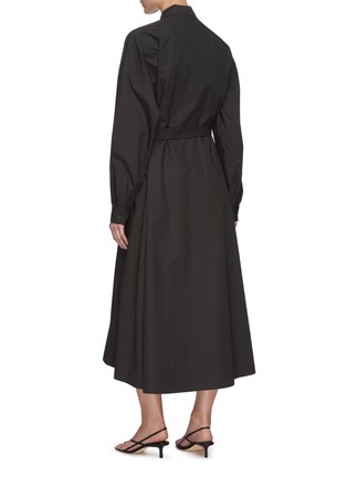 Back View - Click To Enlarge - REMAIN - 'Mezzo' belted shirt dress