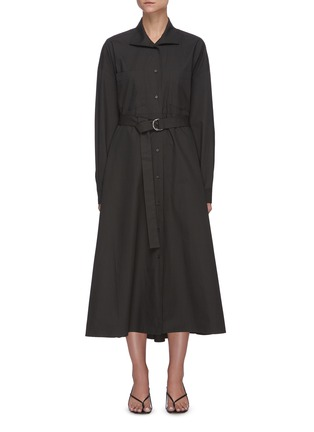 Main View - Click To Enlarge - REMAIN - 'Mezzo' belted shirt dress