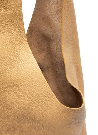 Detail View - Click To Enlarge - THE ROW - 'Bucket Hobo' Top Handle Leather Shoulder Bag