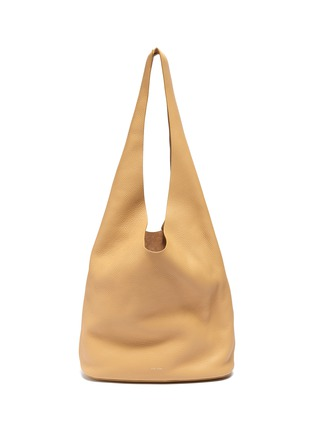 Main View - Click To Enlarge - THE ROW - 'Bucket Hobo' Top Handle Leather Shoulder Bag