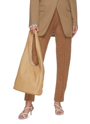 Figure View - Click To Enlarge - THE ROW - 'Bucket Hobo' Top Handle Leather Shoulder Bag