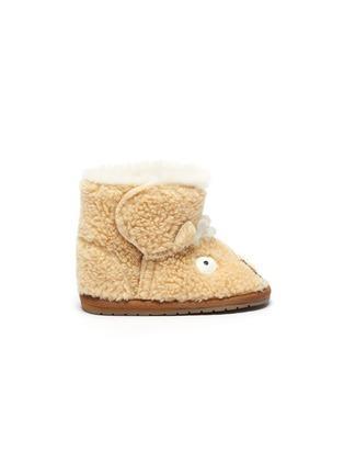 Main View - Click To Enlarge - EMU AUSTRALIA - 'Little Creatures Llama Walker' infant boots