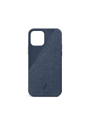 Main View - Click To Enlarge - NATIVE UNION - CLIC Canvas iPhone 12 Pro Max Case — Indigo