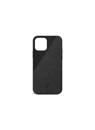 Main View - Click To Enlarge - NATIVE UNION - Clic Canvas iPhone 12 mini Case – Black