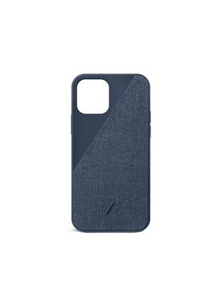 Main View - Click To Enlarge - NATIVE UNION - CLIC Canvas iPhone 12 Case — Indigo