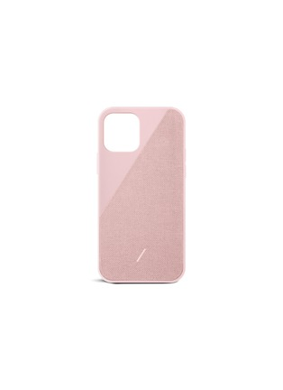 Main View - Click To Enlarge - NATIVE UNION - Clic Canvas iPhone 12 mini Case – Rose