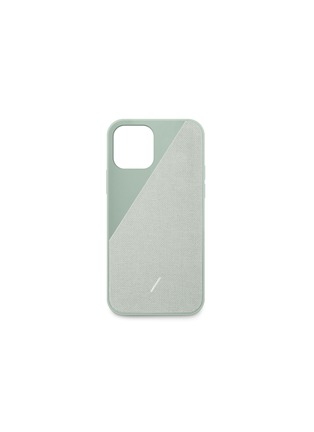 Main View - Click To Enlarge - NATIVE UNION - Clic Canvas iPhone 12 Pro Max Case – Sage
