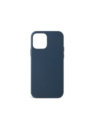 Main View - Click To Enlarge - NATIVE UNION - Clic Classic leather iPhone 12 case – Blue
