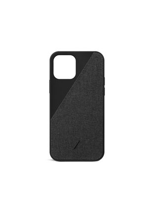 Main View - Click To Enlarge - NATIVE UNION - Clic Canvas iPhone 12 Case – Black