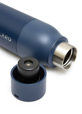 Detail View - Click To Enlarge - LARQ - DIGITAL PURIFICATION BOTTLE – MONACO BLUE