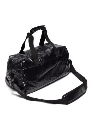 Detail View - Click To Enlarge - SAINT LAURENT - Logo print nylon duffle bag
