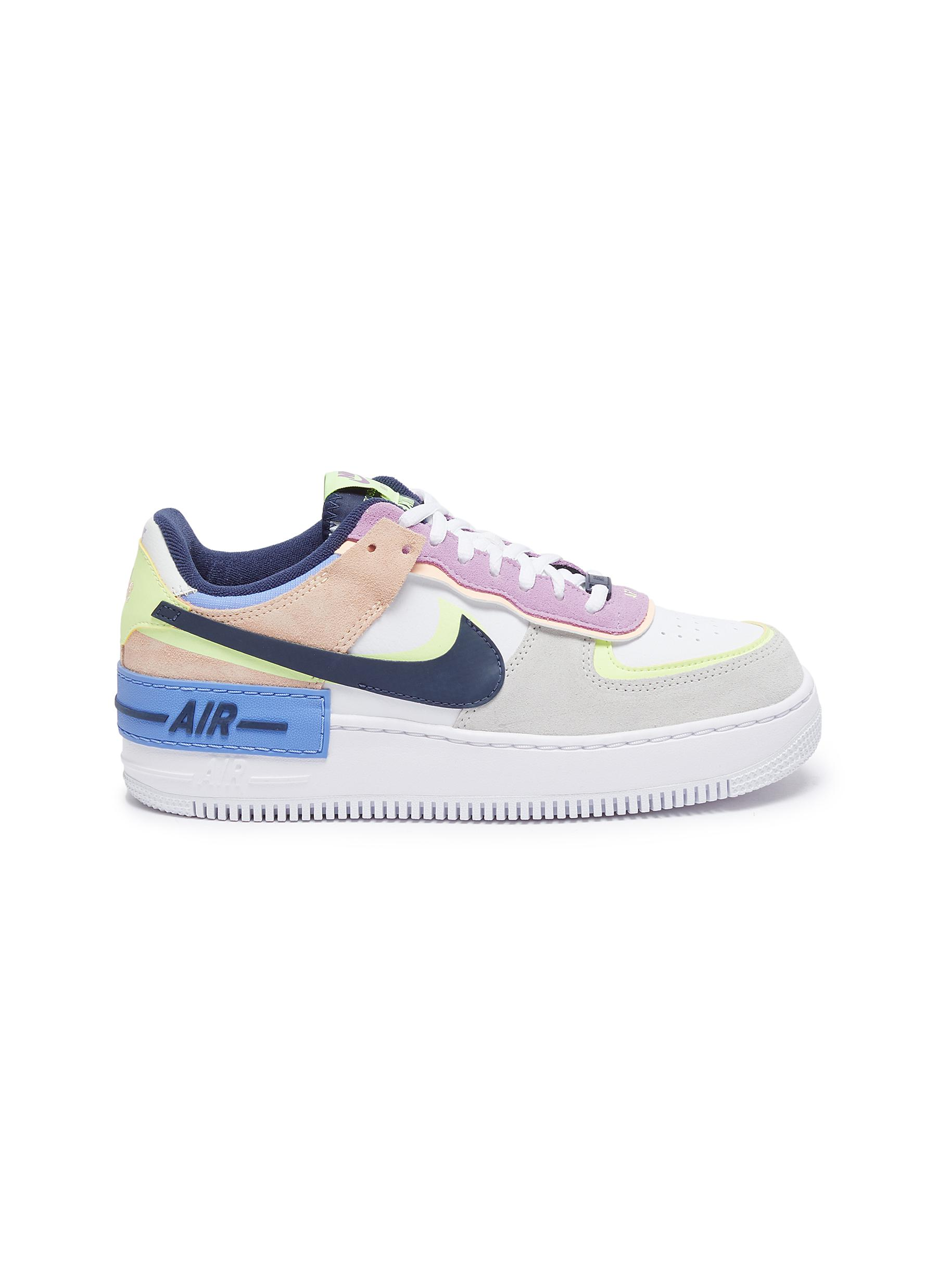 Nike Air Force 1 Shadow Low Top Platform Leather Sneakers Women Lane Crawford Nike air force 1 jester xx black sonic yellow. lane crawford
