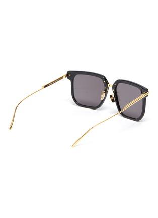 Figure View - Click To Enlarge - BOTTEGA VENETA - Acetate frame square sunglasses