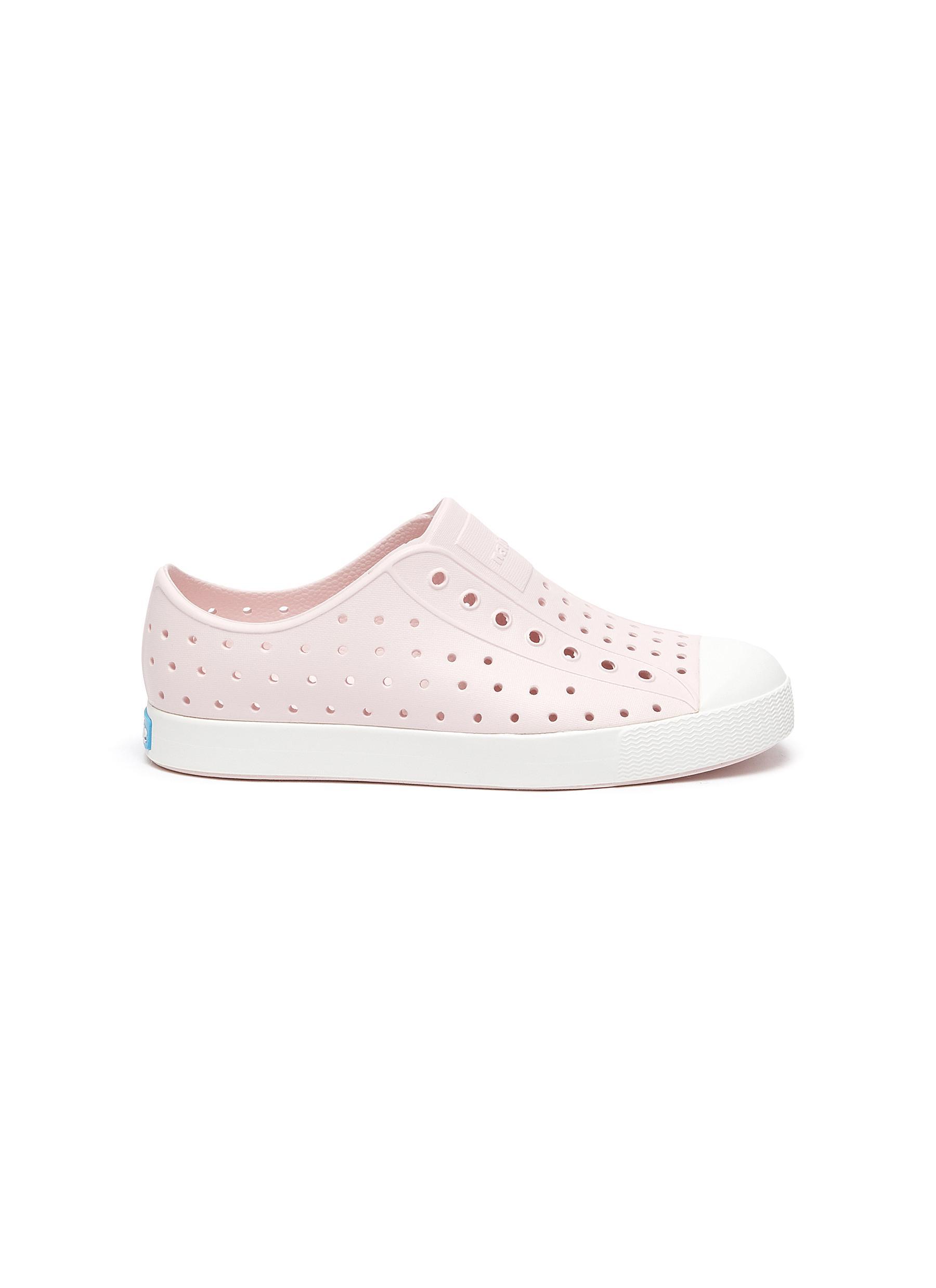 Jefferson' Perforated Colourblock Junior Slip-on Sneakers - NATIVE - Modalova