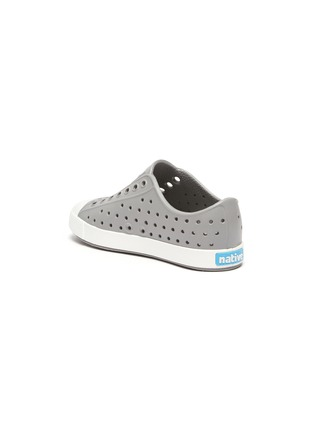 Detail View - Click To Enlarge - NATIVE - 'Jefferson' Perforated Colourblock Toddler Slip-on Sneakers